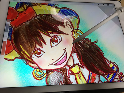 iPadPro制作風景