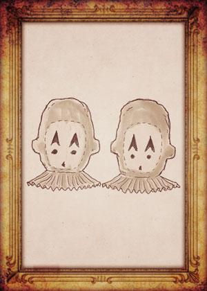 ミス・ペレグリンと奇妙なこどもたち イラスト 双子