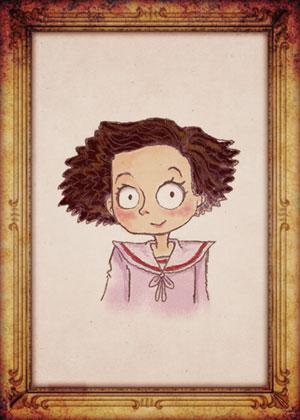 ミス・ペレグリンと奇妙なこどもたち イラスト ブロンウィン